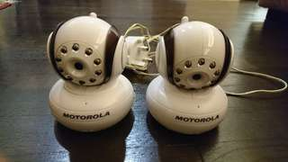 2 Extra Cameras for Motorola Mbp36 Baby Monitor nitor