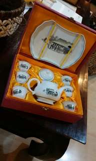 Vintage Gung Fu Teapot set selling cheap