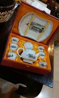 Vintage Gung Fu Teapot set selling cheap