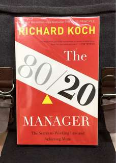 # Highly Recommended《New Book Condition + How The Secret of 80/20 Principle Works More Effectively & Getting Better Results In A Fraction Of Time》Richard Koch - THE 80/20 MANAGER : The Secret to Working Less and Achieving More