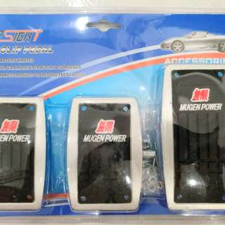Mugen Power sports pedal for manual car