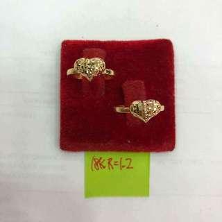 Saudi Gold-Heart Ring