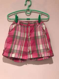 Bossini Kids Checkered Bermuda Shorts