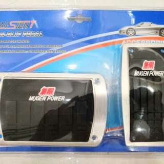 Mugen Power sports pedal for auto car