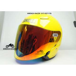 SHOEI J-STREAM [YELLOW] - WITH COLOR VISOR