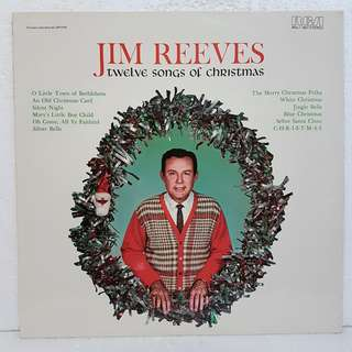 Reserved: Jim Reeves - Twelve Songs Of Christmas Vinyl Record