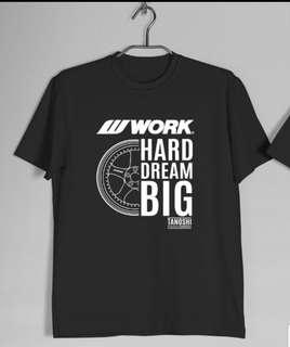 work rim wheel S1 t shirt
