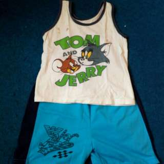 set baju tom & jerry