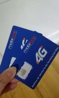 越南胡志明市峴港芽莊 五天無限上網4G電話卡🏅