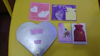 情人節2月14日1995附車票及紙套1個