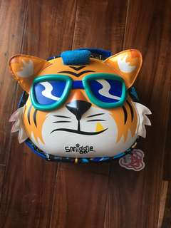 Authentic Smiggle Lunchbox Cool Tiger color Blue and Black
