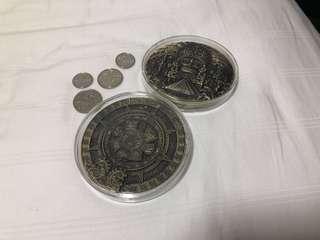 Coin MAYAN COMMEMORATIVE COIN CLEARANCE