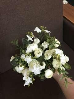 婚後物資 伴娘捧花 塑膠花