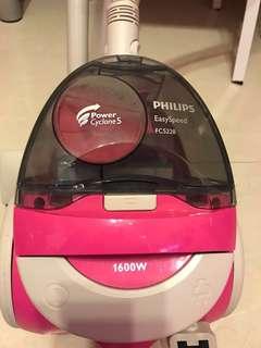 粉紅色Philip FC5228 1600w 吸塵機