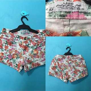 Summer Floral Shorts