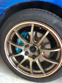 "Advan RZ Racing 17"" Rim for Civic FD1"