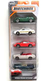 Matchbox Open-Roadsters 5-Pack