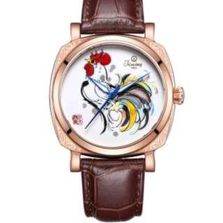 100% All New Italy brand Timing 特别限量版系列 8212SX 唐瓷機械錶
