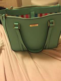 KATE SPADE Teal Tote - AUTHENTIC