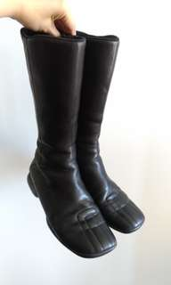 Authentic Prada mid-calf boots