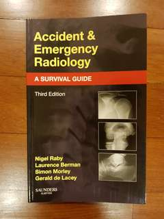 Accident and emergency radiology: a survival guide. 3rd Ed. Raby.