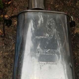 Nismo exhaust B13 B14 Y10 Y11 N14 N13 N15 Pulsar A32