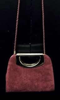 New faux suede Mini purse