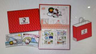 Hello kitty stamps set