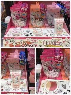 Monchhichi BB Cream / 胭脂連鏡子 日本限定 日本直送 超罕