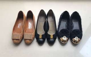 Branded flats clearance