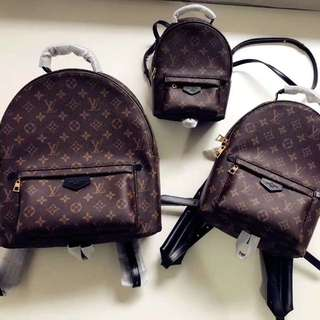 LV Louis Vuitton palm spring backpack