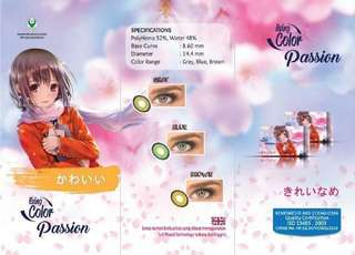 Softlens Living Color Passion