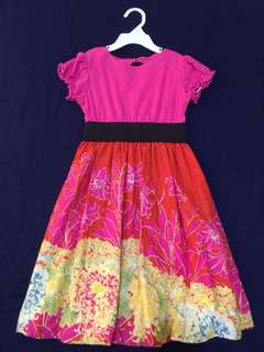 BNwoT Folliage dress for little girl