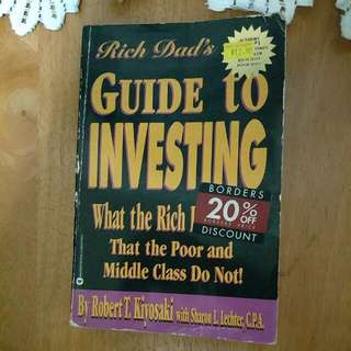 Rich Dad's Guide To Investing.