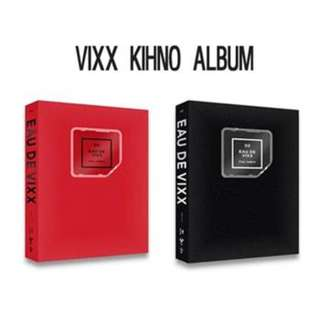[PO SET] VIXX - Eau De Vixx Kihno Album (Red + Black)