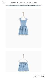 Zara skirt with brace