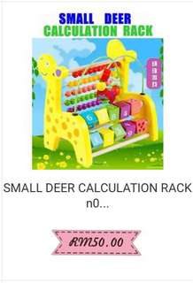 Calculation rack