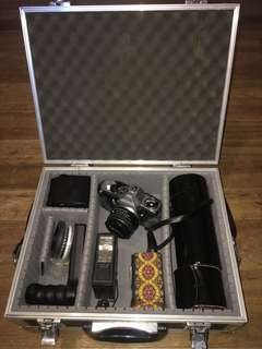 Pentax complete set with case