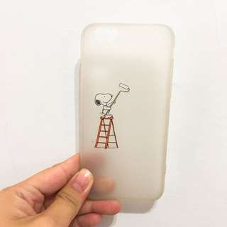 i6/i6s史努比snoopy手機殼