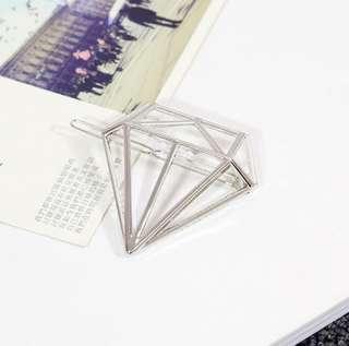 Korean fashion hair clip diamond