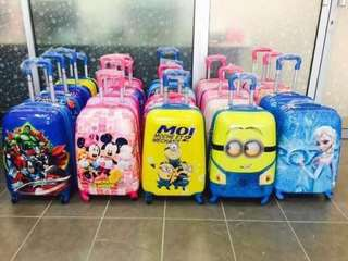Child 4 fiber luggage bags