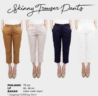 skinny trousers pants