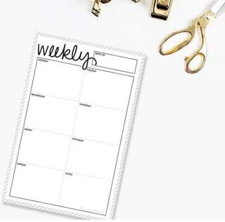 [po] Weekly/Daily Planner