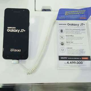 Samsung J7+ Free adm +tenor 9 bulan