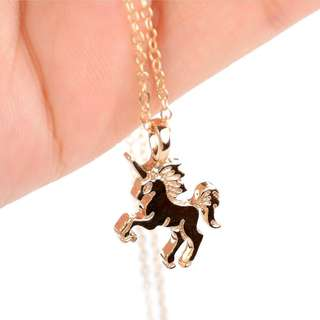 Unicorn necklace brand new