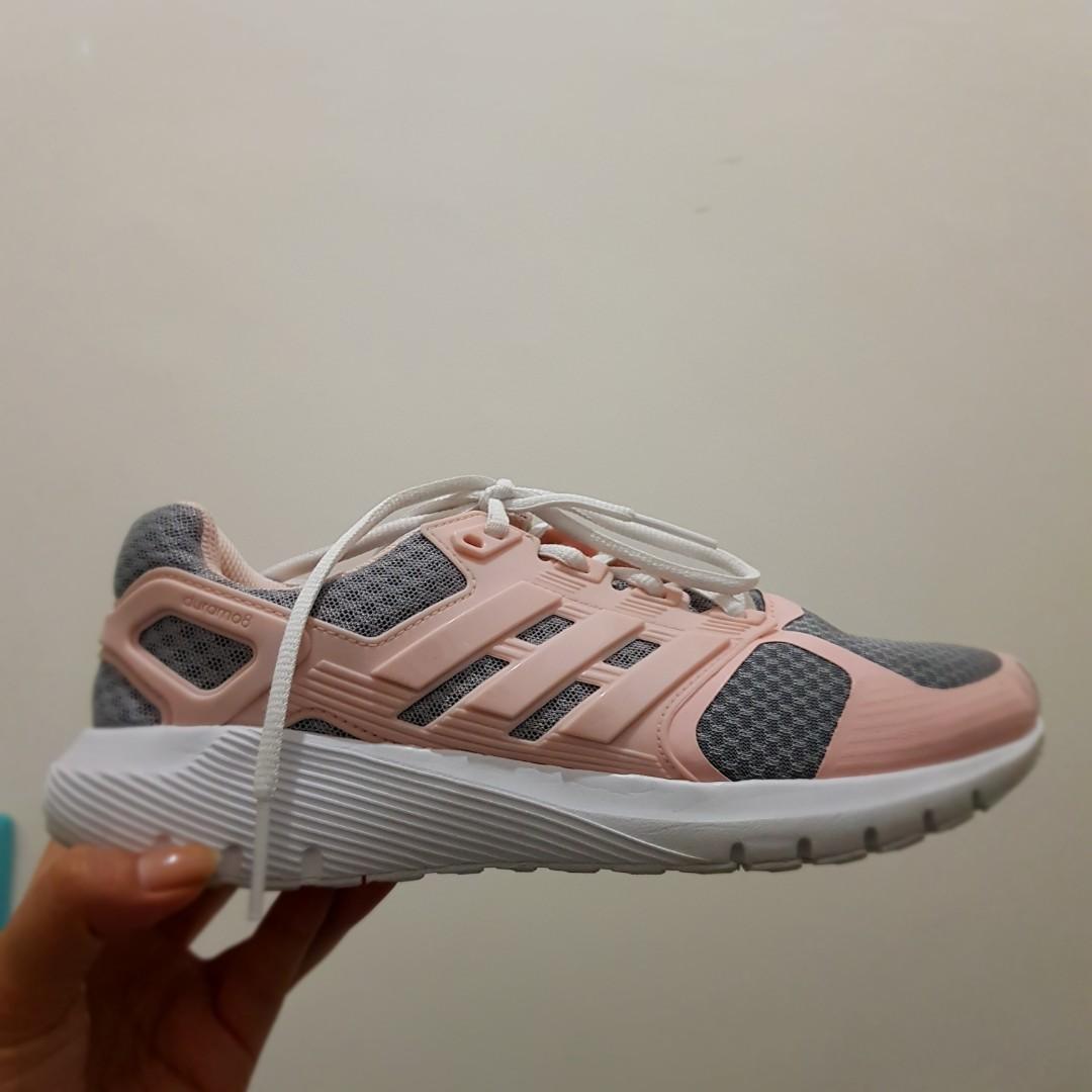 Adidas Running Shoes Preloved Fesyen Wanita Sepatu Di Carousell