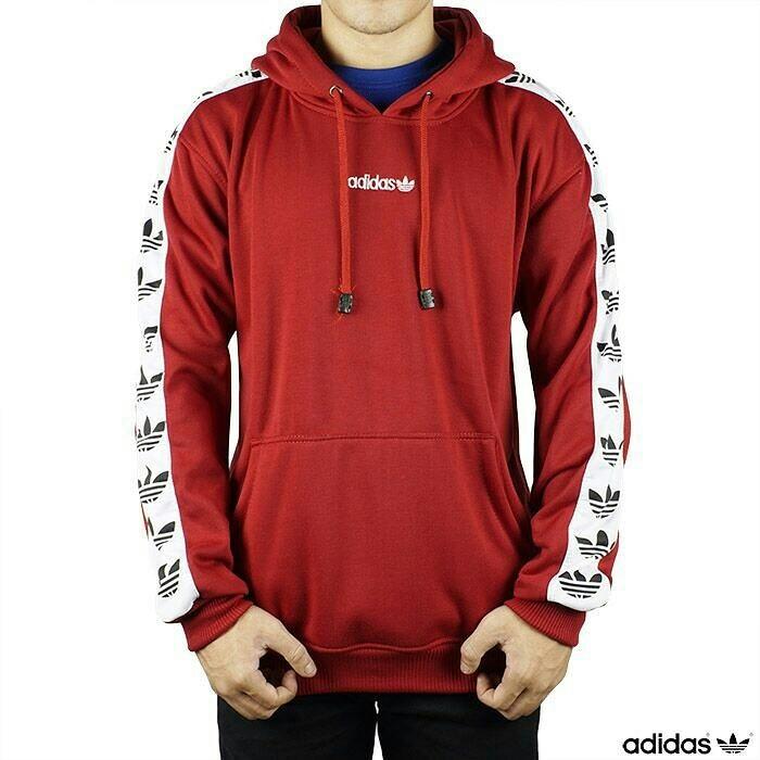 HoodieMen's FashionClothes Tnt Red Adidas Jaket Sweater P0nOk8wX