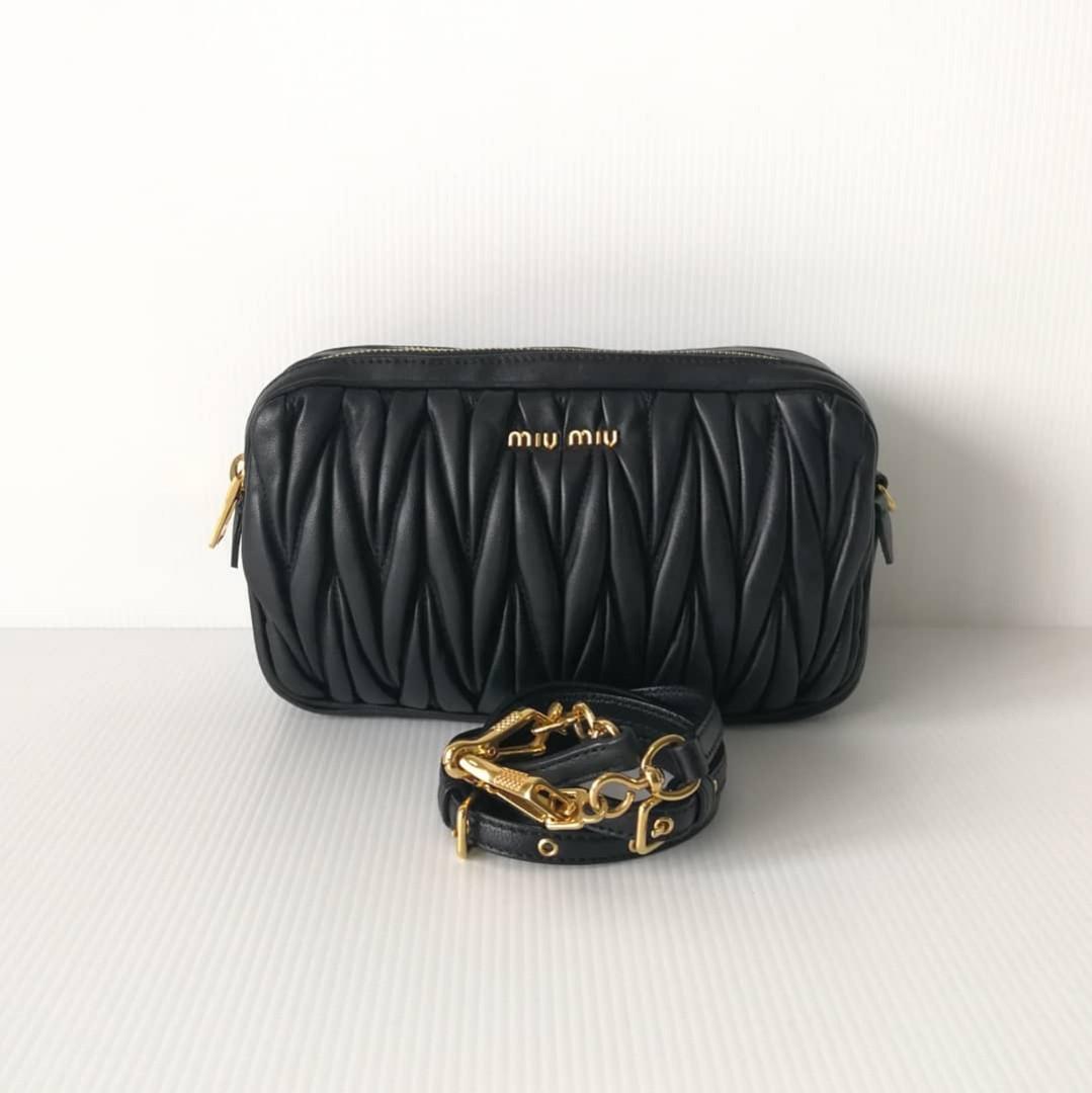 542cb9178bf4 Authentic Miu Miu Crossbody Bag