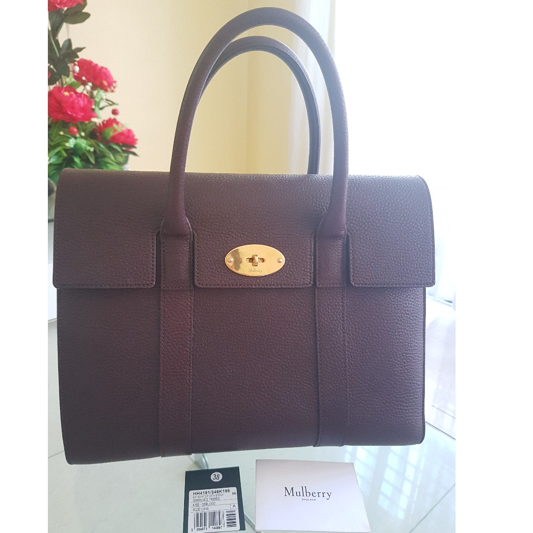 Authentic Mulberry New Bayswater with Strap ba92b9d0af8b3