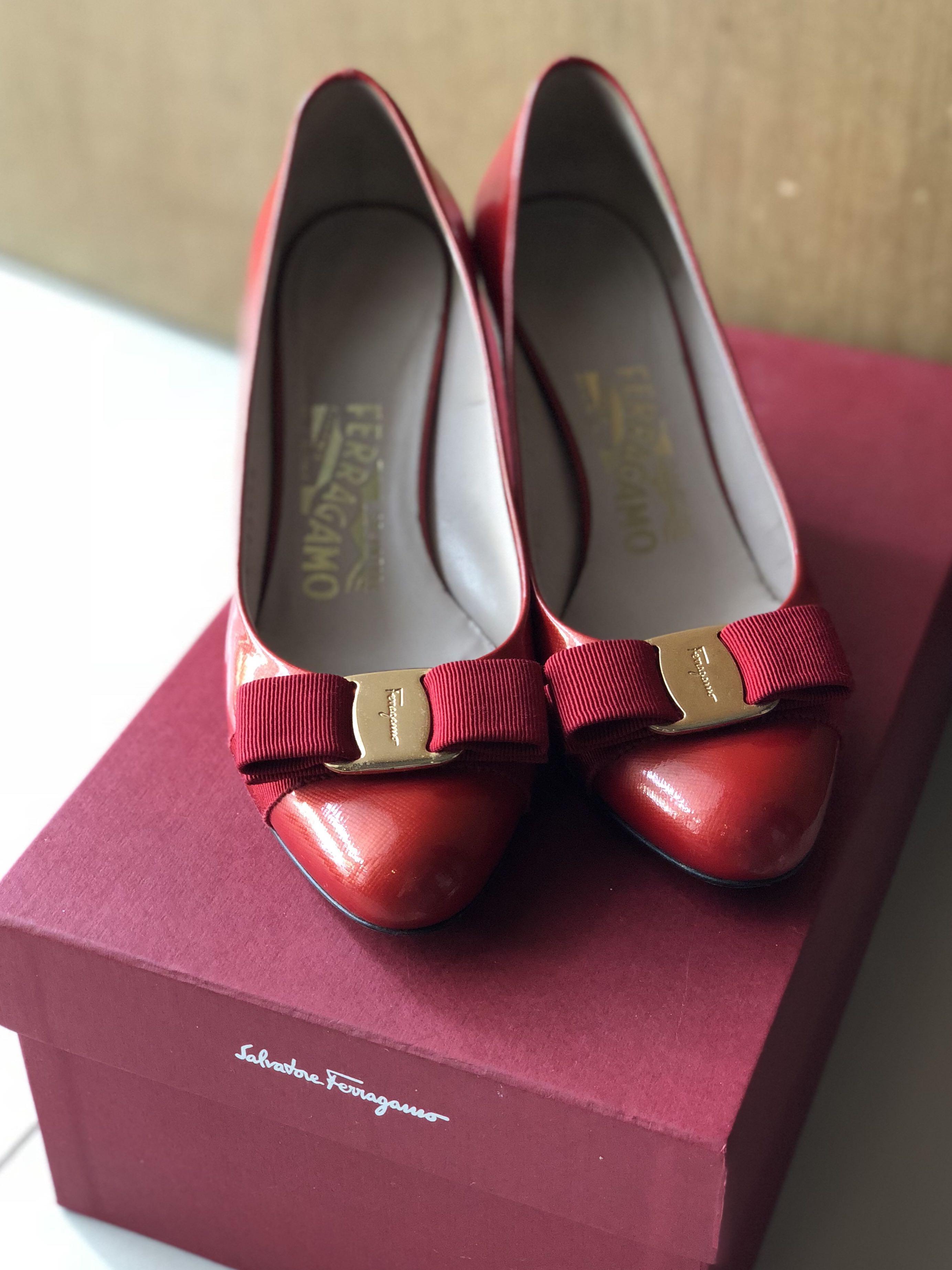 692ebb1f859 Authentic Salvatore Ferragamo Shoes (wedges) size 5D
